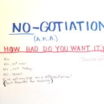 NO-gotiation How Bad Do You Want It
